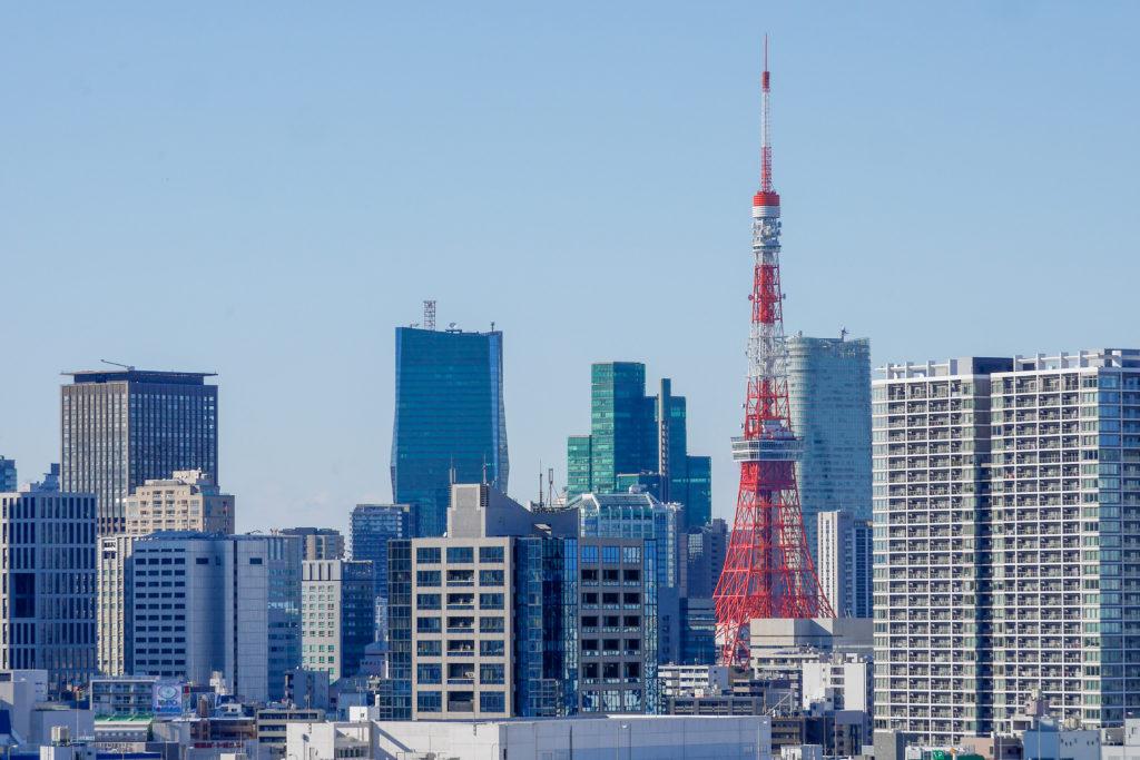レインボープロムナードを歩いてみた 東京タワー